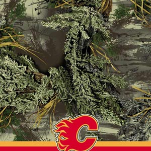 Realtree Camo Calgary Flames