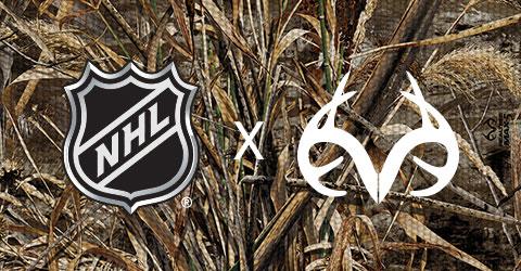 NHL Realtree Camo Design Collection