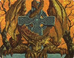Celtic Dragon of Autumn