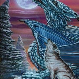 Wolf Dragon Moon