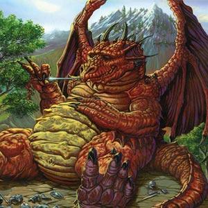Dragon Wins Lunch
