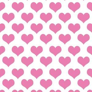 Plush Pink Hearts
