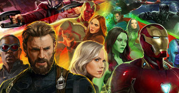 Browse Avengers: Infinity War Designs