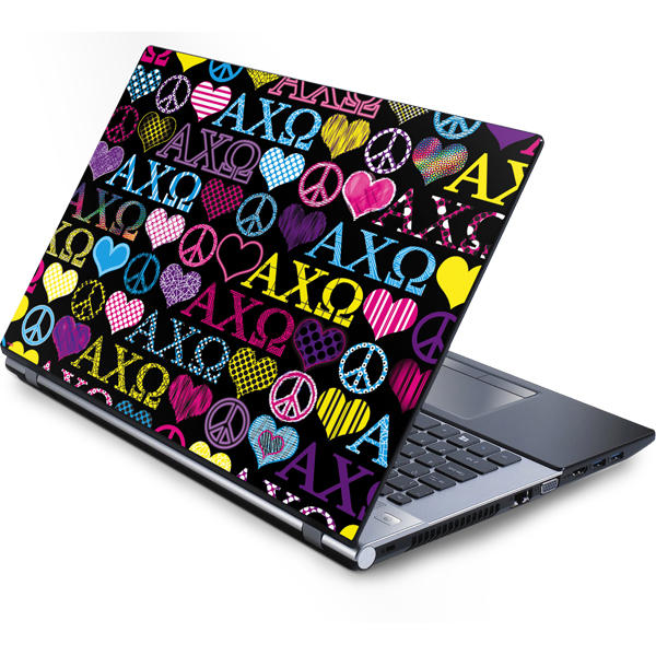 Alpha Chi Omega Laptop Skins