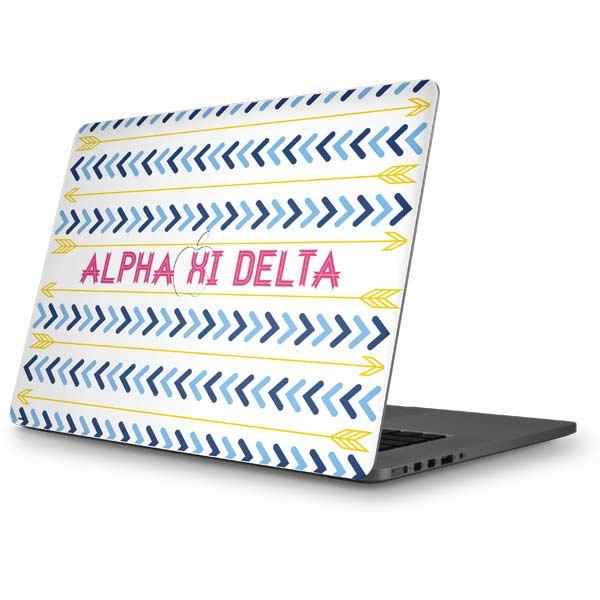 Alpha Xi Delta MacBook Skins
