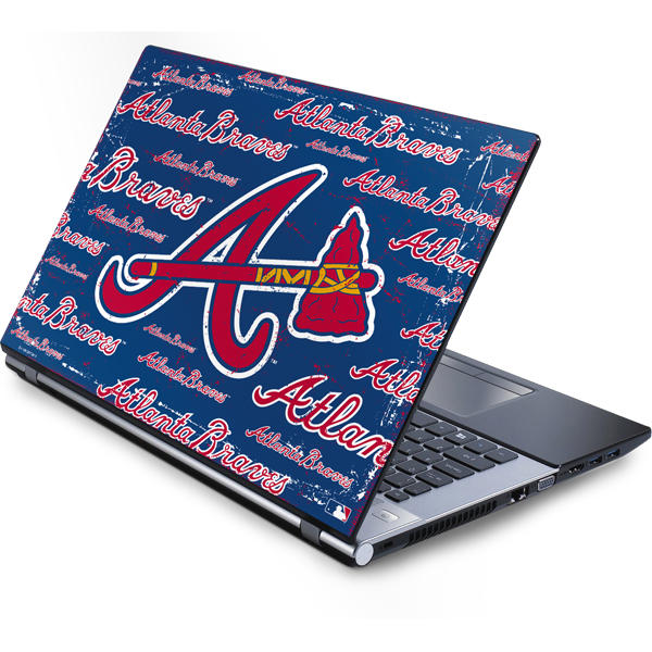 Shop Atlanta Braves Laptop Skins