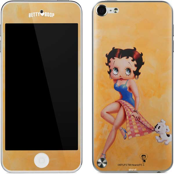 Shop Betty Boop iPod Skins