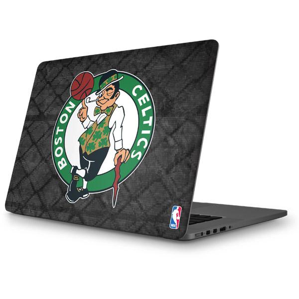 Boston Celtics MacBook Skins