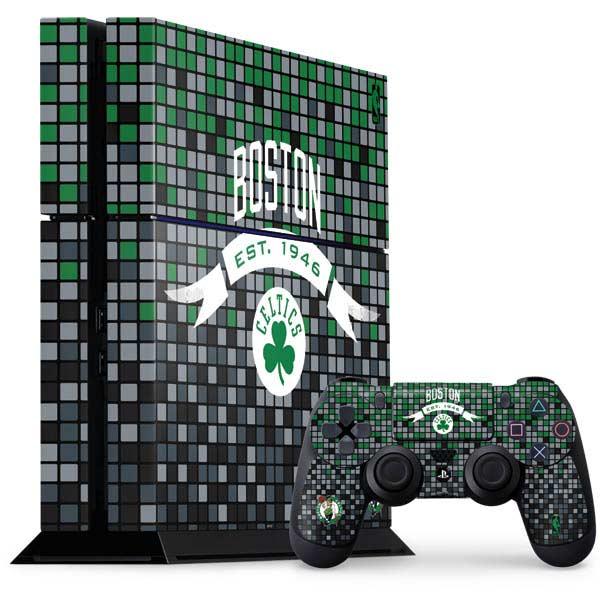 Boston Celtics PlayStation Gaming Skins