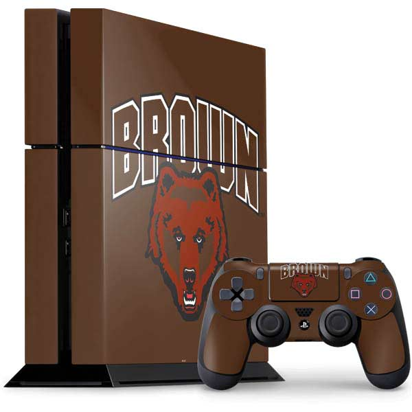 Brown University PlayStation Gaming Skins