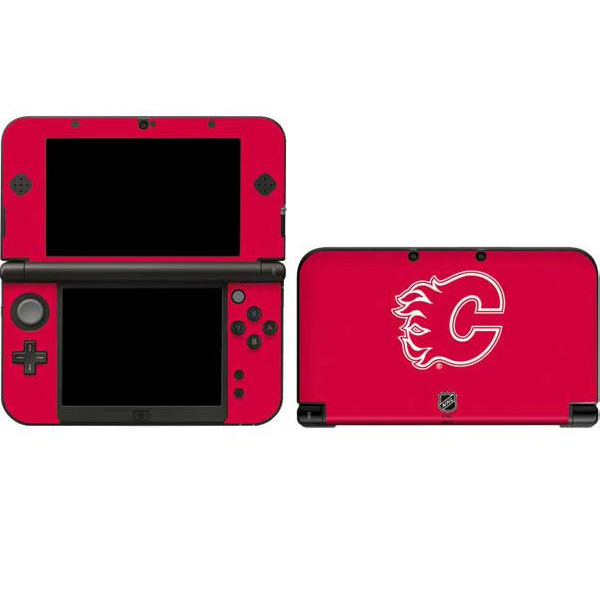 Calgary Flames Nintendo Gaming Skins
