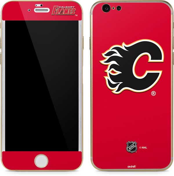 Calgary Flames Phone Skins