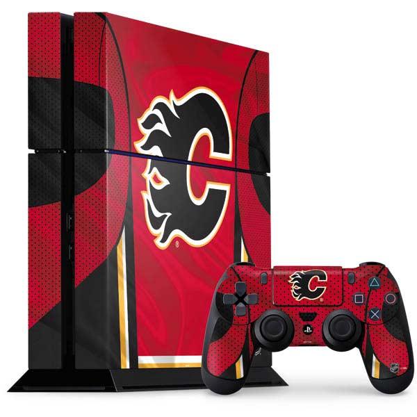 Calgary Flames PlayStation Gaming Skins