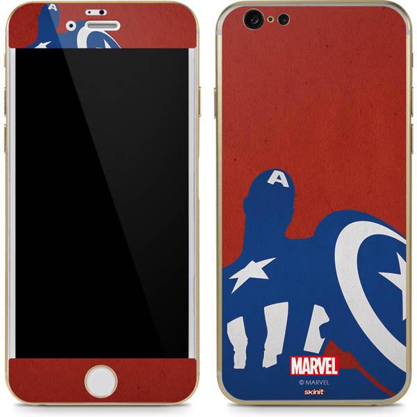 Shop Captain America Phone Skins