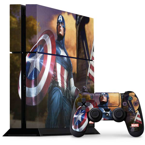 Shop Captain America PlayStation Gaming Skins