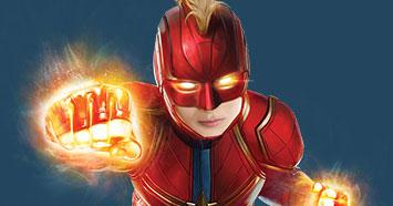 Browse Captain Marvel Designs