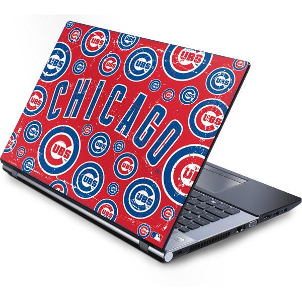 Chicago Cubs Laptop Skins