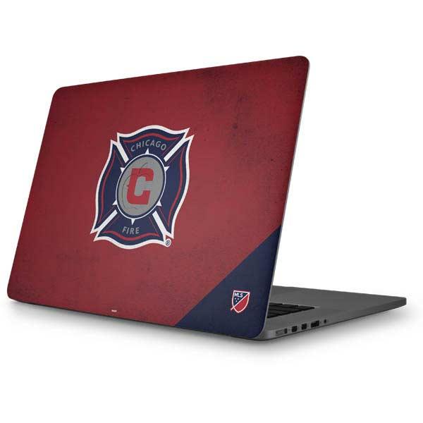 Chicago Fire MacBook Skins
