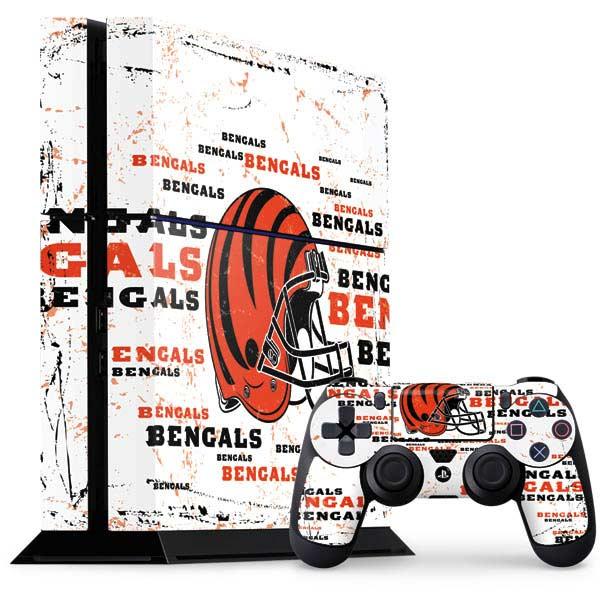 Cincinnati Bengals PlayStation Gaming Skins