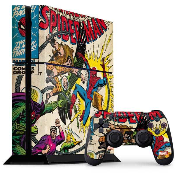 Comic Book Covers PlayStation Gaming Skins