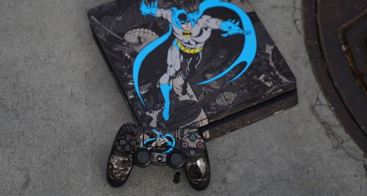 Shop DC Comics PlayStation 4 Slim Skins