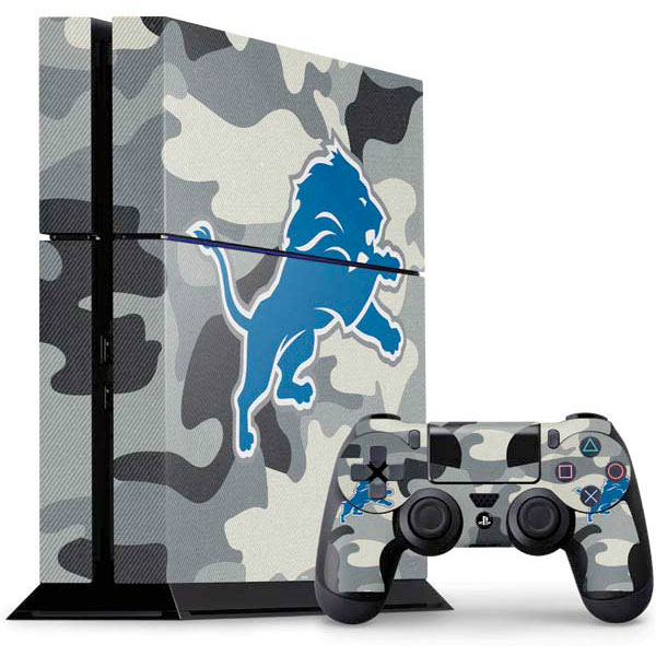 Detroit Lions PlayStation Gaming Skins