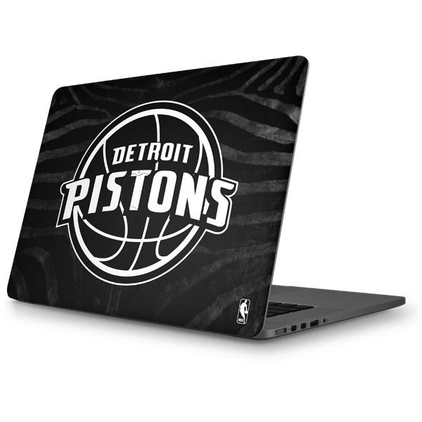 Detroit Pistons MacBook Skins