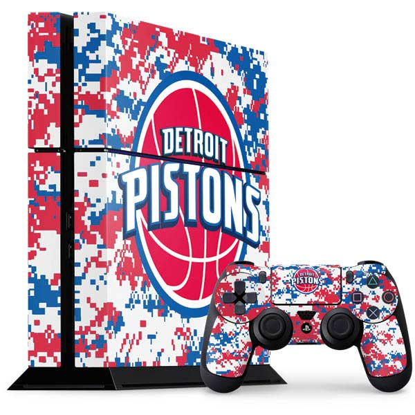 Detroit Pistons PlayStation Gaming Skins