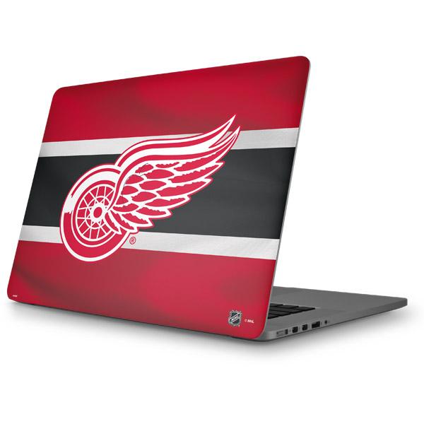 Detroit Red Wings MacBook Skins