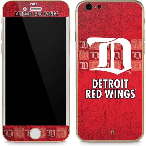 Detroit Red Wings Phone Skins
