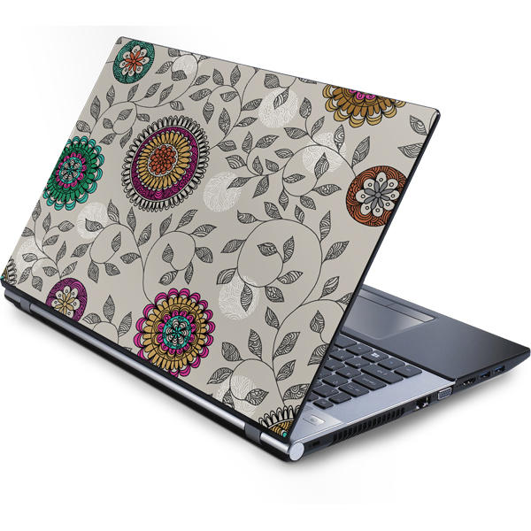 Shop Floral Patterns Laptop Skins
