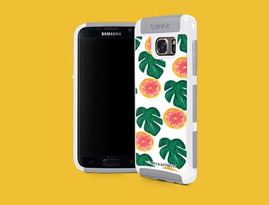 Galaxy S7 Edge White Cargo Case