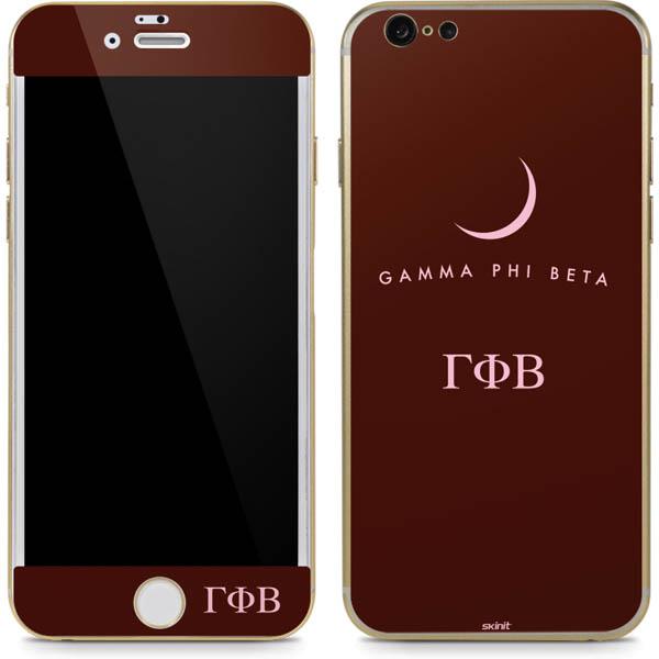 Shop Gamma Phi Beta Phone Skins
