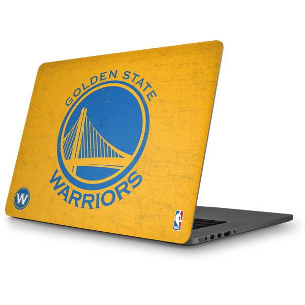 Golden State Warriors MacBook Skins