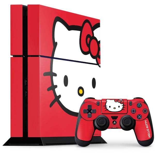 Hello Kitty PlayStation Gaming Skins