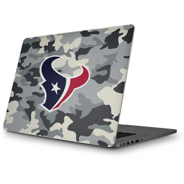 Houston Texans MacBook Skins