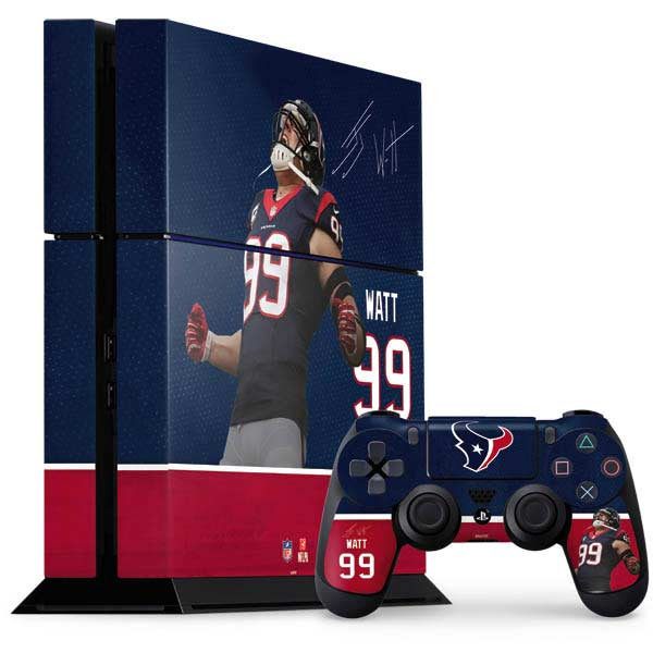 Houston Texans PlayStation Gaming Skins