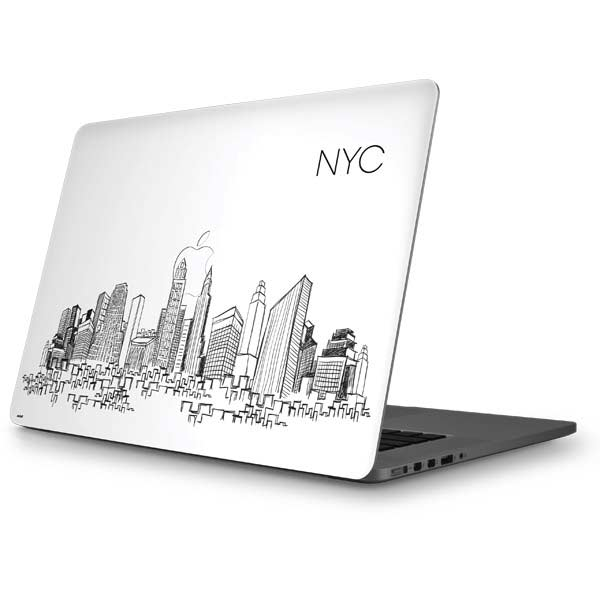 Illustration Art MacBook Skins