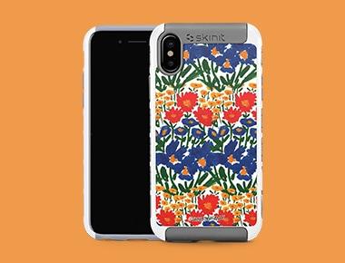 iPhone X White Cargo Case
