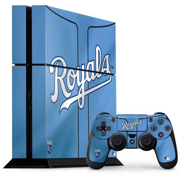 Kansas City Royals PlayStation Gaming Skins