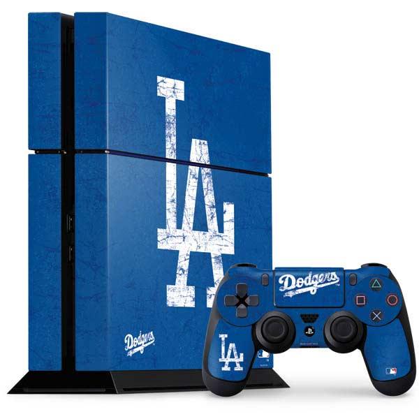 Los Angeles Dodgers PlayStation Gaming Skins
