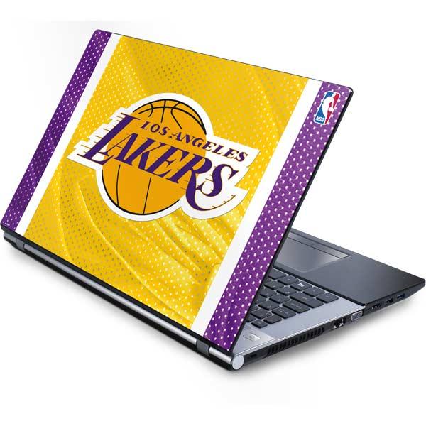 Shop Los Angeles Lakers Laptop Skins