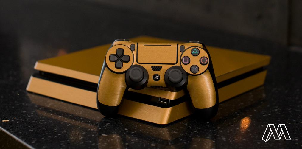 Shop PlayStation Metallic Skin
