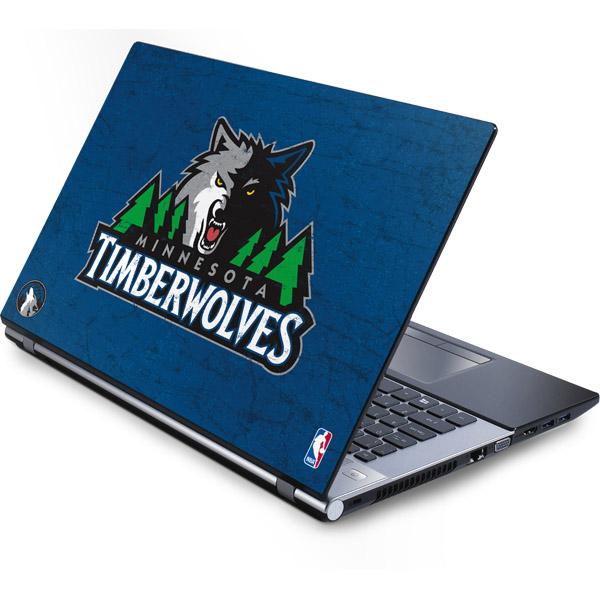 Minnesota Timberwolves Laptop Skins