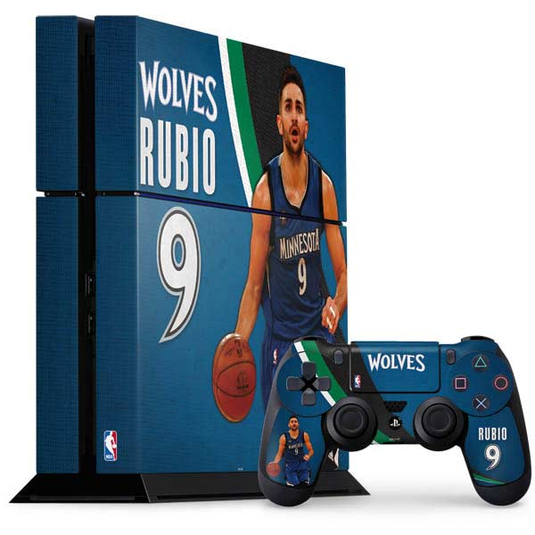 Minnesota Timberwolves PlayStation Gaming Skins