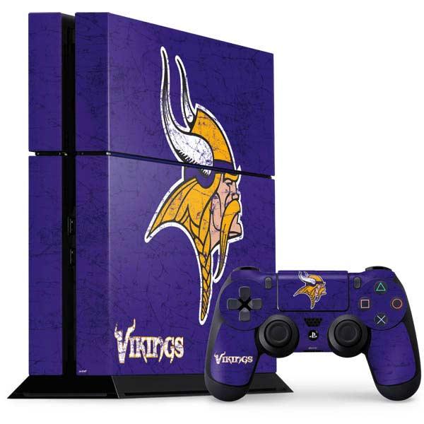 Minnesota Vikings PlayStation Gaming Skins