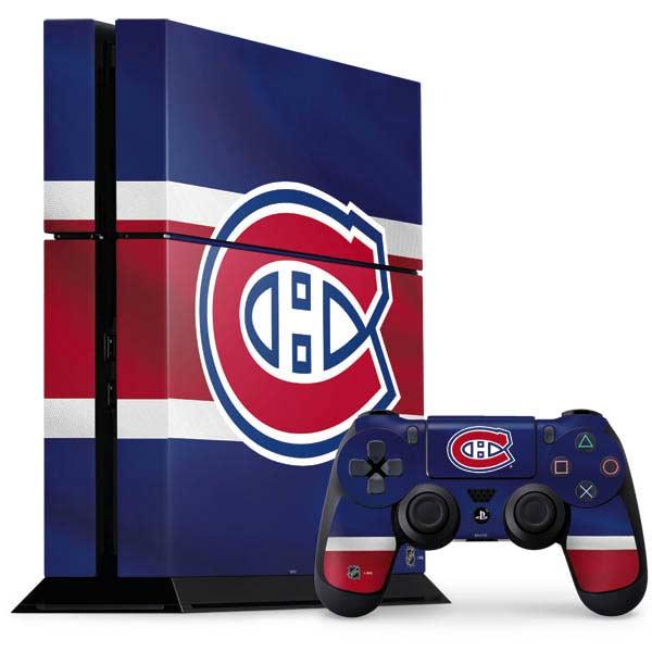 Montreal Canadiens PlayStation Gaming Skins