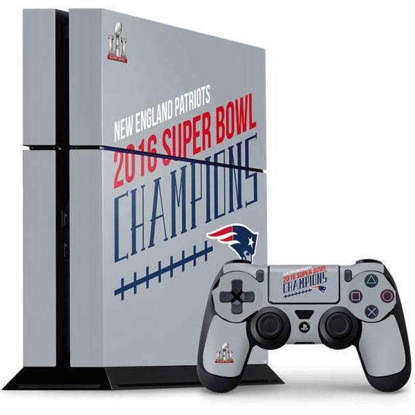 Shop New England Patriots PlayStation Gaming Skins