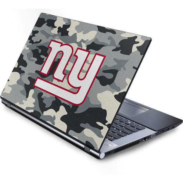Shop New York Giants Laptop Skins