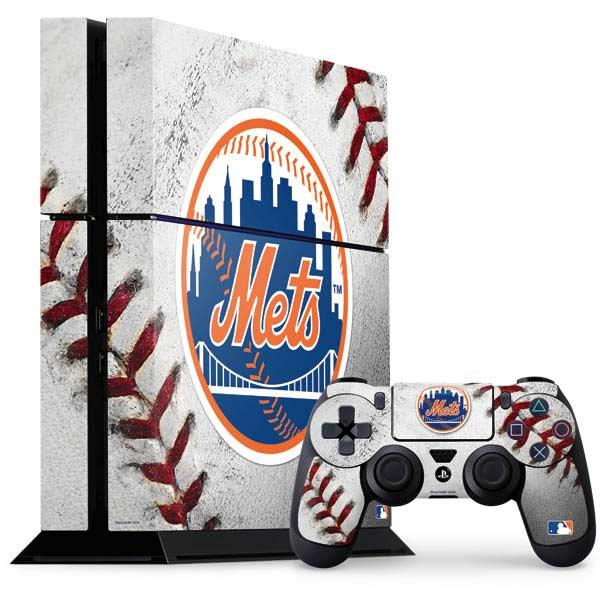 New York Mets PlayStation Gaming Skins